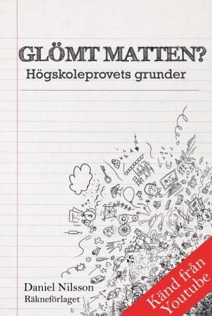 Högskoleprovsbok bok glömt matten högskoleprovets grunder omslag